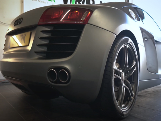 Colour change wrap to Audi R8