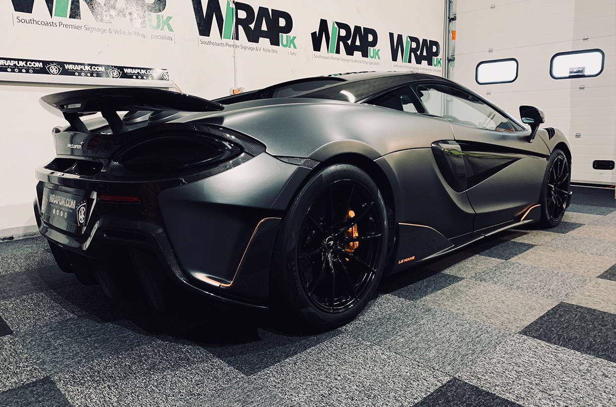 Mclaren 600lt colour change wrap